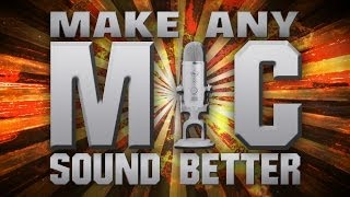 [TUTORIAL] How to Make any Microphone Sound better & More Professional with Adobe Audition