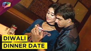 Mohsin Khan and Shivangi Joshi Diwali dinner