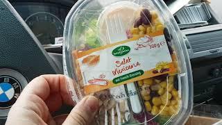 Essen für unter 3 EURO ! Salat MEXICANA von ► ► LiDL + Thunfisch + Ayran !KRAFTSPORT!