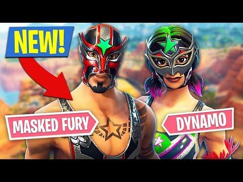 Xxx Mp4 Fortnite NEW Masked Fury Dynamo Skins Fortnite Battle Royale 3gp Sex