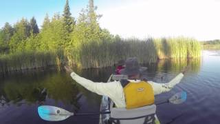 Indiana James and Yo Simmity Sambo Kayak Fishing on Taylor Lake