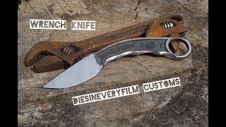 Forging a Wrench Karambit