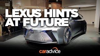 Lexus LS+ hints at autonomous future and new look