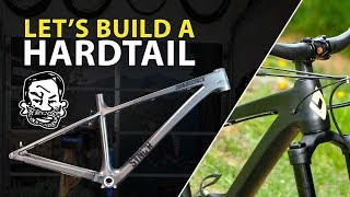 Building my Sync'r Carbon Hardtail from Parts