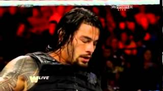 WWE Old School Raw CM Punk vs. Roman Reigns