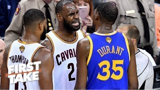 Should Warriors be more concerned with Cavaliers after trading Kyrie?   First Take   ESPN