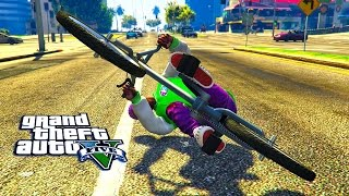 GTA 5 ONLINE - STUNTS AND TRICKS WITH SUBSCRIBERS