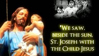 ♔ ST. JOSEPH APPARITION - FATIMA, PORTUGAL ♔ OCTOBER 13, 1917 ♔