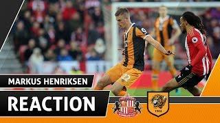 Sunderland v The Tigers | Reaction With Markus Henriksen | 19.11.16