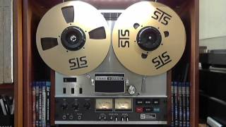 Master tape copy demo. Note: You can't hear the real sound quality via YouTube.