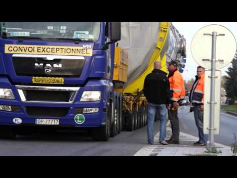 Bedmet Logistic - Wymiary Transportowe: 40m x 5,5m x 6,2m Trasa: Hradec Kralove - Melnik, PL
