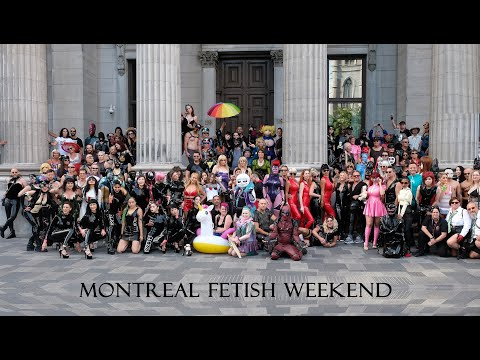 MONTREAL FETISH WEEKEND 1 HOUR OF LATEX KINK FASHION CATSUIT CYBER STEAMPUNK