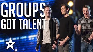 TOP 6 Vocal Groups From Americas Got Talent & Britain