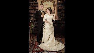 Dressing up a Victorian Bride