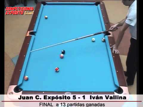 Final Campeonato de Asturias de Billar Pool 2011