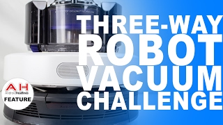 Vacuum Wars - Dyson 360 Eye vs iRobot Roomba 980 vs Xiaomi Mi Robot Vacuum