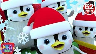Jingle Bells - Penguins | + More Nursery Rhymes & Kids Songs - ABCkidTV