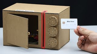 Build A Safe With Combination Digit Number And Card
