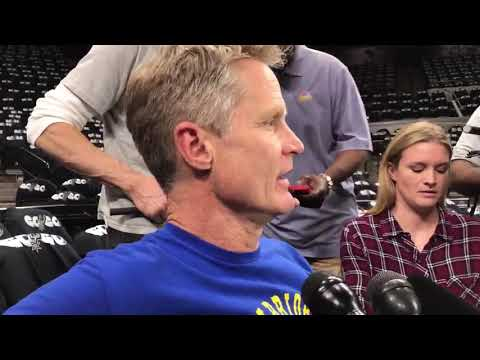 Steve Kerr Reacts to Passing of Erin Popovich, Coach Popovich's Wife