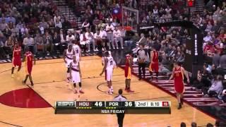 [April 5, 2013] Jeremy Lin - 22 Points, 8 Assists Full Highlights vs Portland Trail Blazers