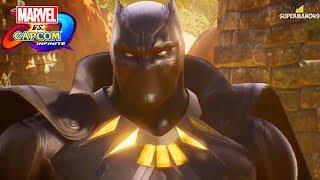 Marvel vs Capcom Infinite: Story Mode E3 Trailer! - Black Panther, Thanos & More