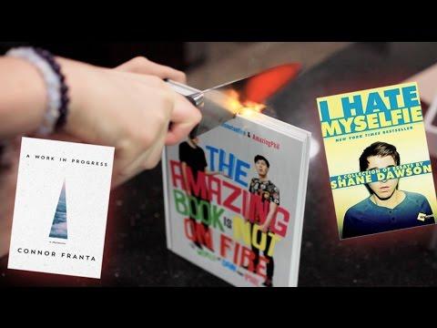 1000 degree KNIFE vs YOUTUBER BOOKS