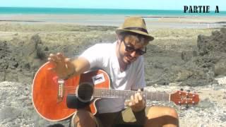 Summertime blues (Eddie Cochran) - Tuto carte postale Granville