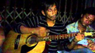 vanga mon... acoustic cover by vibranto pothik