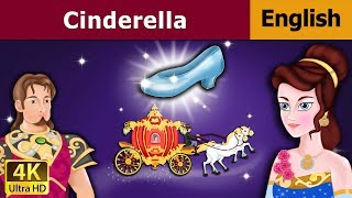 Cinderella in English - Fairy Tales - Bedtime Stories - 4K UHD - English Fairy Tales