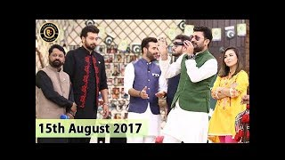 Salam Zindagi - 15th August 2017 - Top Pakistani Show