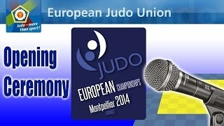 European Championships - Montpellier 2014 - Opening Ceremony