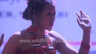Kabui Naga dance by Thanagong village women from Manipur