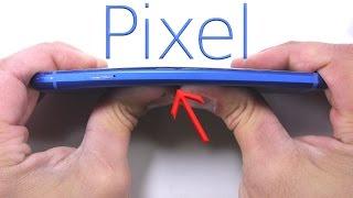 Google Pixel - Scratch test, BEND test, Burn test - Durability video