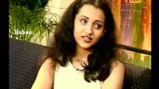 Trisha's Interview before Cine Entry.. Naiyandi Darbar!