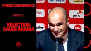 LIVESTREAM | Press conference squad list friendly vs Saudi Arabia