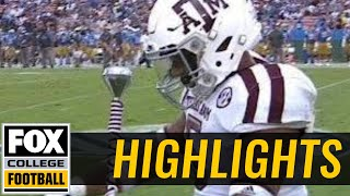 Trayveon Williams' 61-yard touchdown adds to his 188 rush yards | Highlights | FOX COLLEGE FOOTBALL