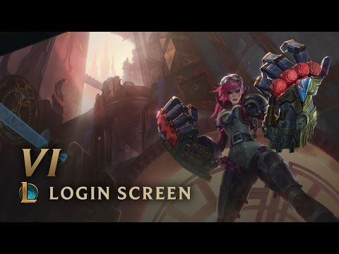 Vi, the Piltover Enforcer | Login Screen - League of Legends