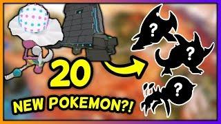 20+ NEW POKÉMON in Pokémon Ultra Sun & Moon?! - [Speculation]