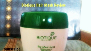 Biotique Hair Mask Review I how to get  healthy hair