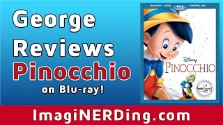 Pinocchio Blu-Ray Review (2017) Walt Disney Signature Collection
