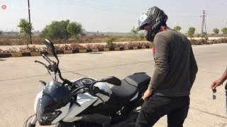 2017 Bajaj Dominar 400 ABS Walkaround & Test Ride
