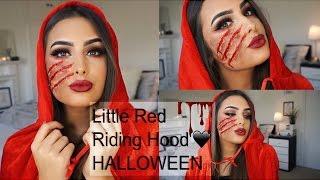 The Little Red Riding Hood HALLOWEEN Makeup Tutorial 2016