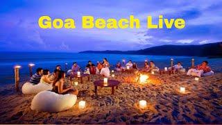 Goa Baga Beach live Video India