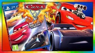 Cars 3 2017 ★☠ Game ☠★ Gameplay & NEW Trailer ★★ DRIVEN TO WIN ★★ McQueen & JACKSON STORM ★★