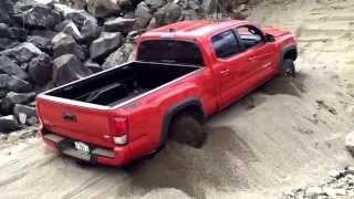 2016 Toyota Tacoma - Demonstrating Crawl Control