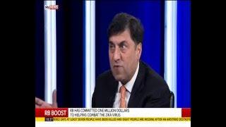 RB CEO Rakesh Kapoor -  SkyNews Interview