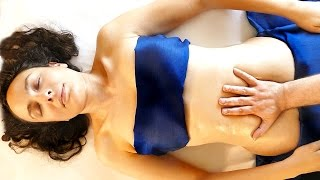 Learn Massage Therapy For Abdomen Pain Relief & Relaxation Techniques for Beginners