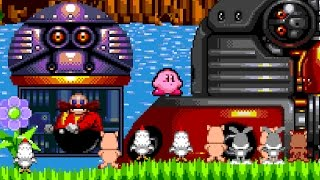 What would happen if Kirby inhaled Dr. Eggman?