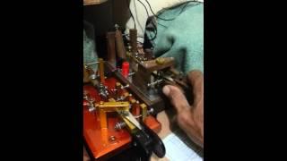 Edy Boget YC8HU Demo Bug, Sideswiper(Cootie), Straighr Key Homebrew.