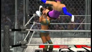 WWE '12 Alicia Foxx vs Alisa Bosconivich